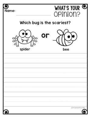 opinion paper writer The curriculum corner 123 and a simple lined paper that can be used for students to transition their give your students practice with opinion writing.